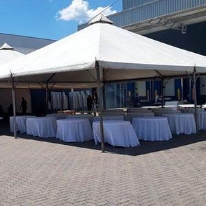 Empresa de locação de tendas