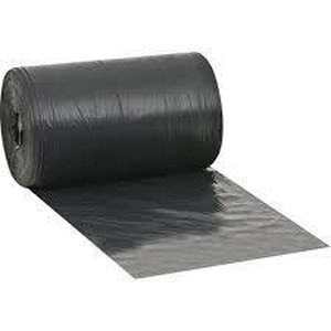 Lona plástica preta